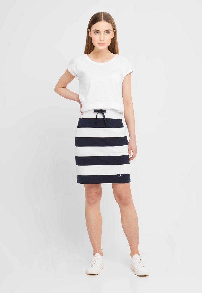 Sea Ranch - Pencil skirt - navy pearl