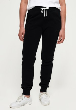 ORANGE LABEL - Tracksuit bottoms - black