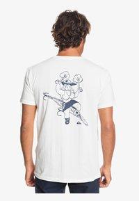 Quiksilver - T-shirt print - snow white - 2