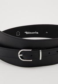 Tamaris - Pásek - black - 2