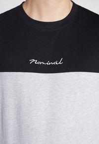 Nominal - DARA - Print T-shirt - heather grey - 5