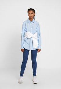 Levi's® - Button-down blouse - adelia stripe powder blue - 1