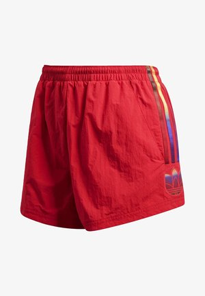 ADICOLOR 3D TREFOIL SHORTS - Szorty - red