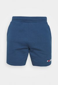 Tommy Hilfiger - LOGO SHORT - Sports shorts - blue - 4