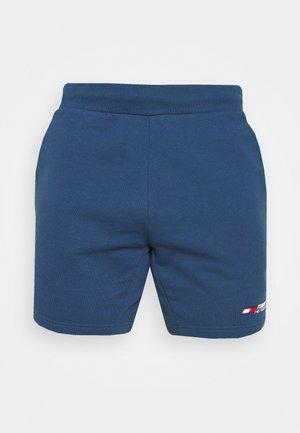 LOGO SHORT - Sportovní kraťasy - blue