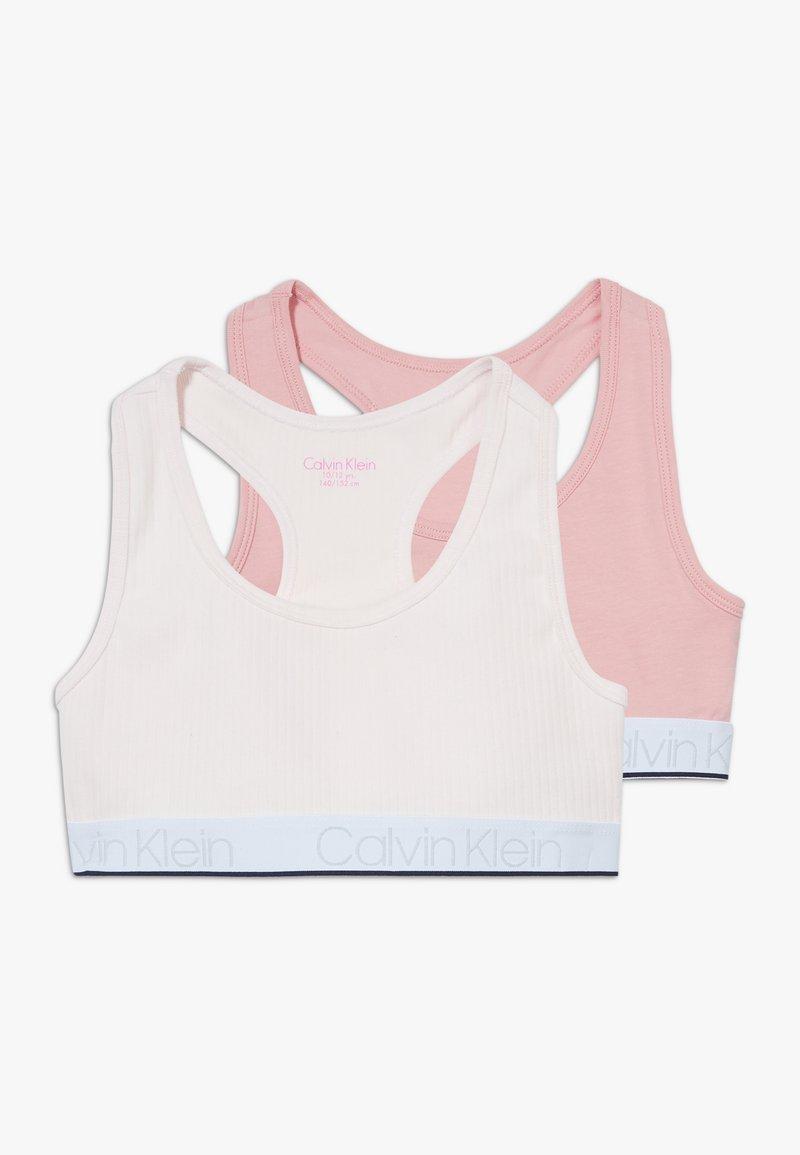 Calvin Klein Underwear - BRALETTE 2 PACK - Bustier - pink