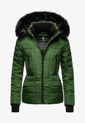 ADELE - Winterjas - green melange