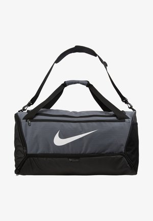 DUFF - Sports bag - flint grey/black/white
