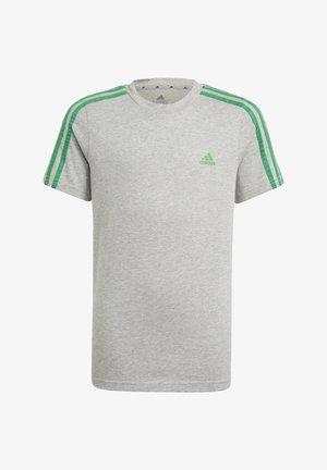 ADIDAS ESSENTIALS 3-STRIPES T-SHIRT - Print T-shirt - grey