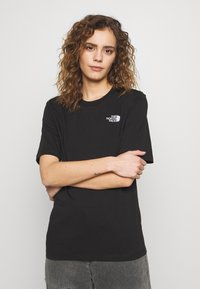 The North Face - SIMPLE DOME - Jednoduché triko - black - 0