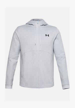 DOUBLE KNIT FZ HOODIE - Zip-up hoodie - halo gray