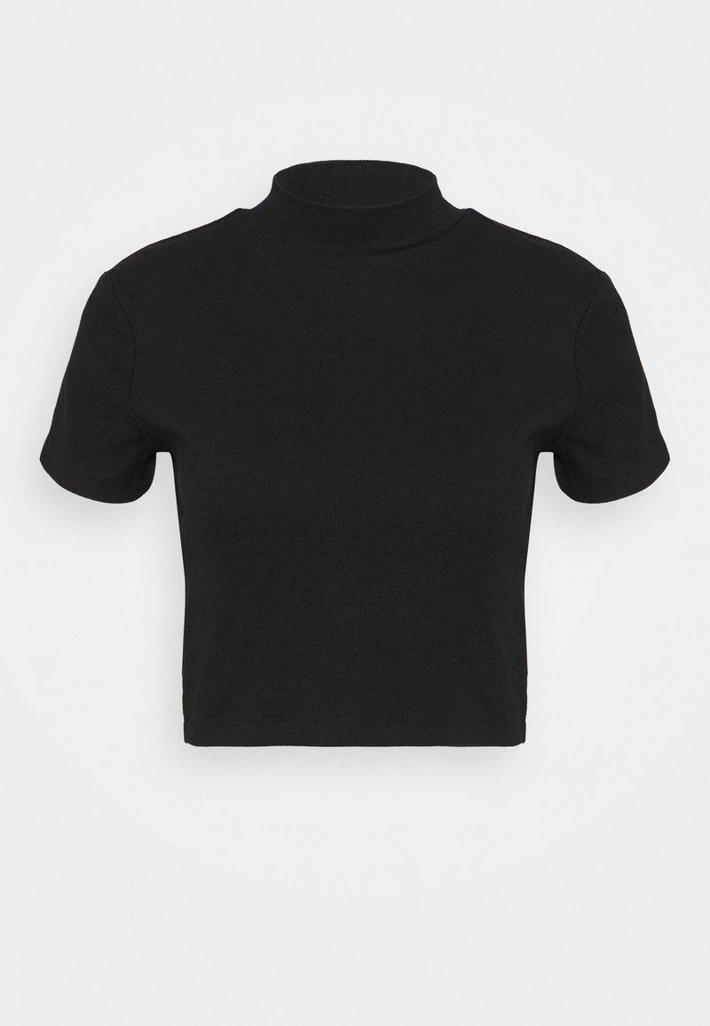 Even&Odd - Jednoduché triko - black