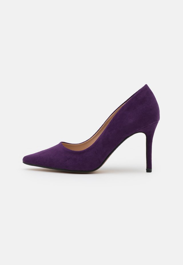 DELE COURT - Escarpins à talons hauts - purple