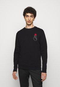 HUGO - DUNGIKU - Sweatshirt - black - 0