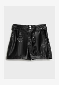 Bershka - Shorts - black - 4