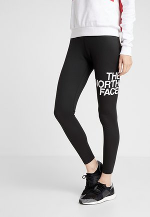 FLEX MID RISE - Leggings - black/white