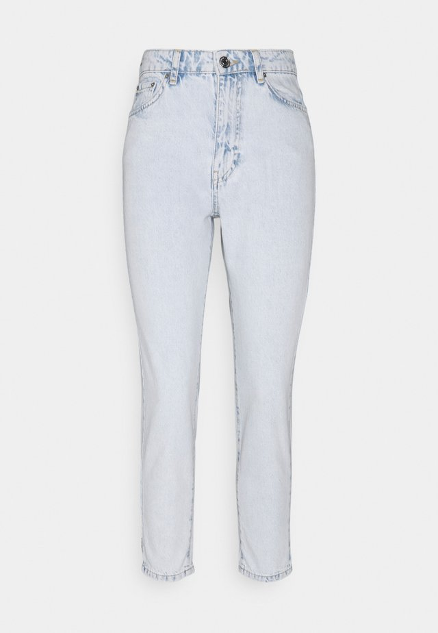 DAGNY MOM - Jeans slim fit - bleached blue