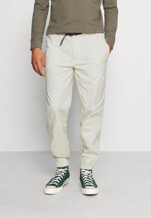 Cargo trousers - ecru