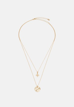 PCPITI COMBI NECKLACE - Necklace - gold-coloured