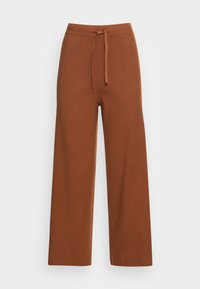 TOM TAILOR DENIM - COZY CULOTTE - Trousers - amber brown - 3