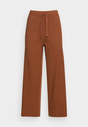 COZY CULOTTE - Kalhoty - amber brown