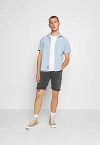 Only & Sons - ONSPLY - Denim shorts - black - 1