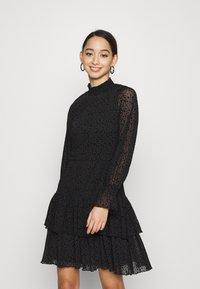 ONLY - ONLSANNA DRESS - Cocktail dress / Party dress - black - 0