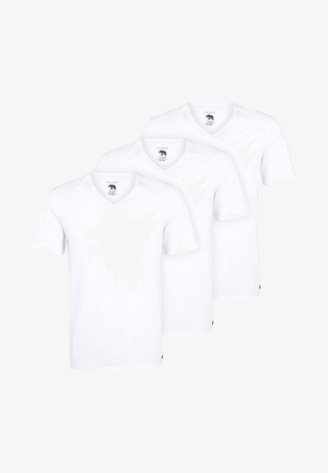 3 PACK - Hemd - white