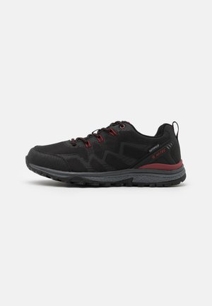 STINGER WP - Chaussures de marche - black/dark red