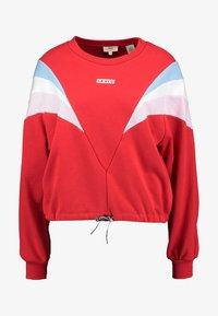 Levi's® - FLORENCE CREW - Sweatshirt - baby tab crew brilliant red - 4