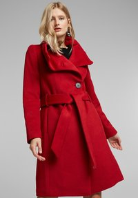 Esprit Collection - Classic coat - dark red - 0