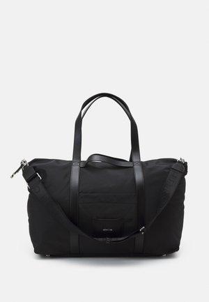 NIKA - Tote bag - black/silver-coloured