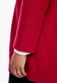 Triangle - Short coat - dark red - 6