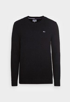 ESSENTIAL CREW NECK  - Jumper - black