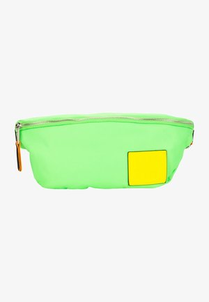 LABEL FIVE - Bum bag - green/yellow