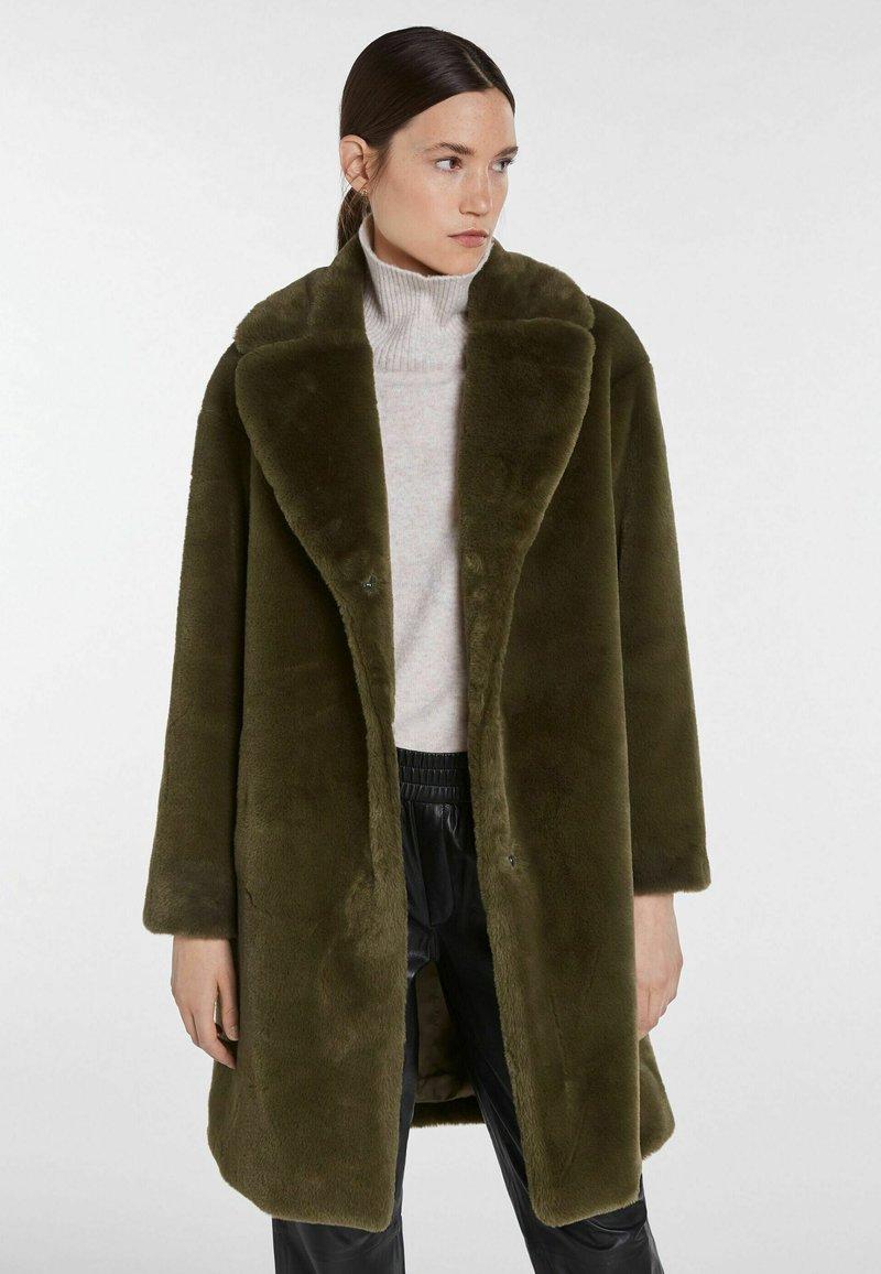 SET - Classic coat - ivy green