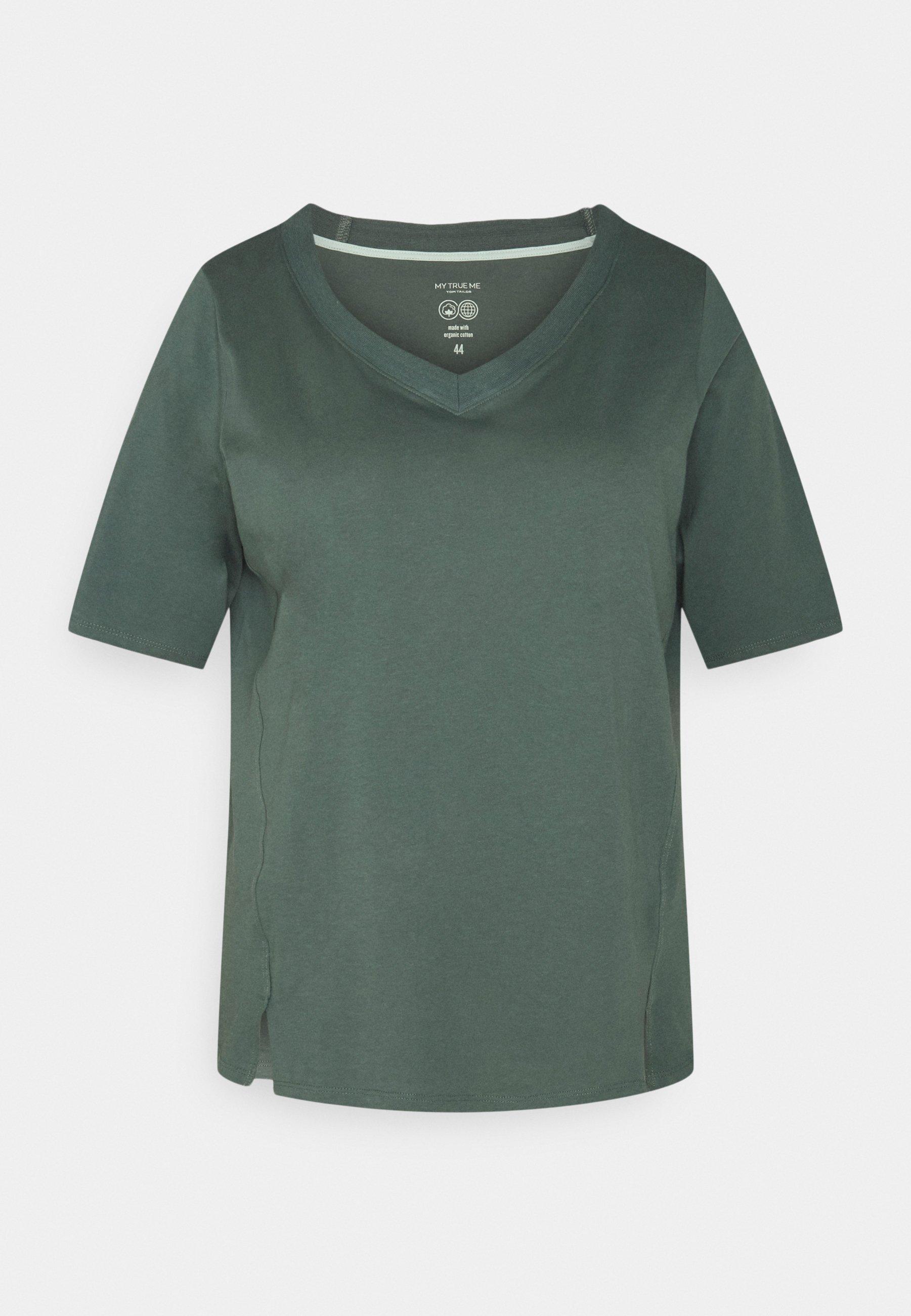 Women V-NECK - Basic T-shirt