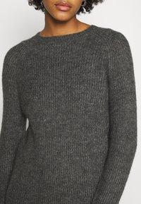 ONLY - ONYSALLIE DRESS - Jumper dress - dark grey melange - 5