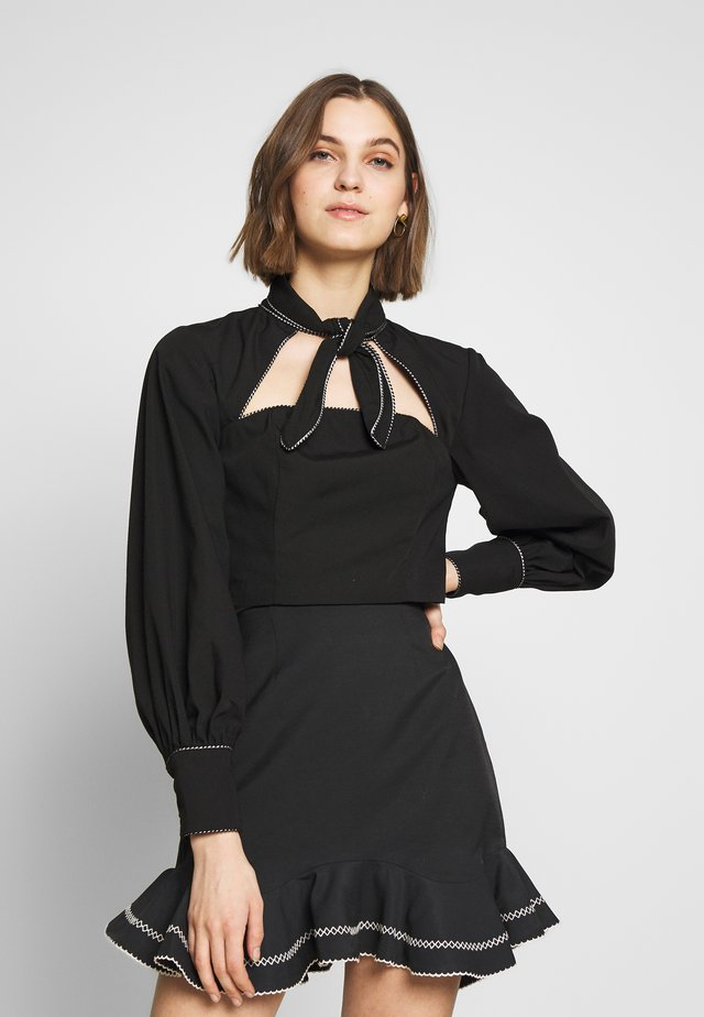 ORIGIN TOP - Blouse - black
