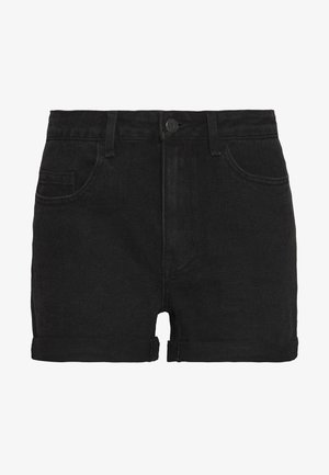 OBJANNA  - Denim shorts - black
