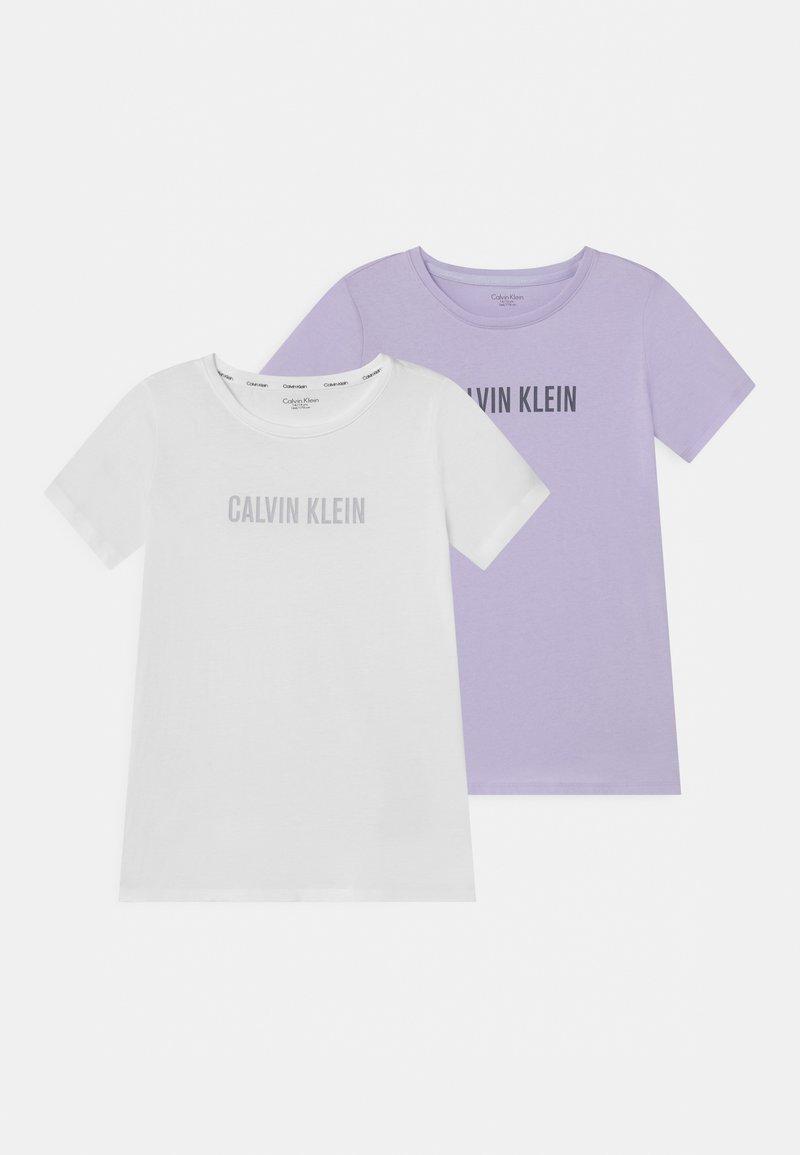 Calvin Klein Underwear - 2 PACK - Maglia del pigiama - lilac