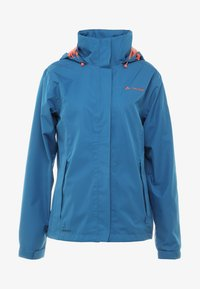 Vaude - WOMANS ESCAPE LIGHT JACKET - Waterproof jacket - kingfisher