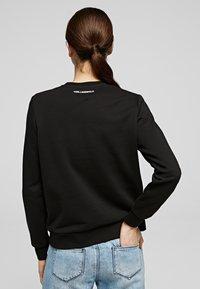 KARL LAGERFELD - Sweatshirt - black - 2
