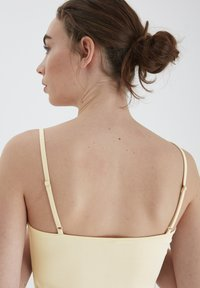 ICHI - SLIM SLIP DRESS - Nightie - natural - 3