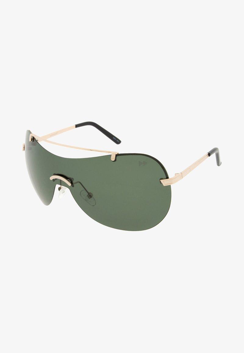 Sunheroes - SERENA - Sunglasses - rose gold/green