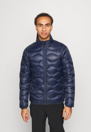 HELIUM JACKET - Down jacket - blue shadow