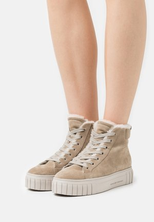 SUN - High-top trainers - biscuit