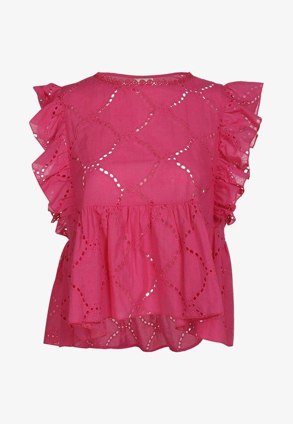 IZIA IZIA BLUSE - Bluzka - pink/rÓżowy NRFV