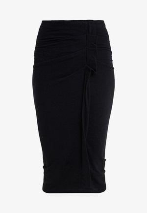 WILBER - Pencil skirt - black