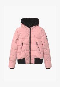 SuperRebel - SUSTAINABLE BASIC SHINY GIRLS - Snowboard jacket - light pink - 0
